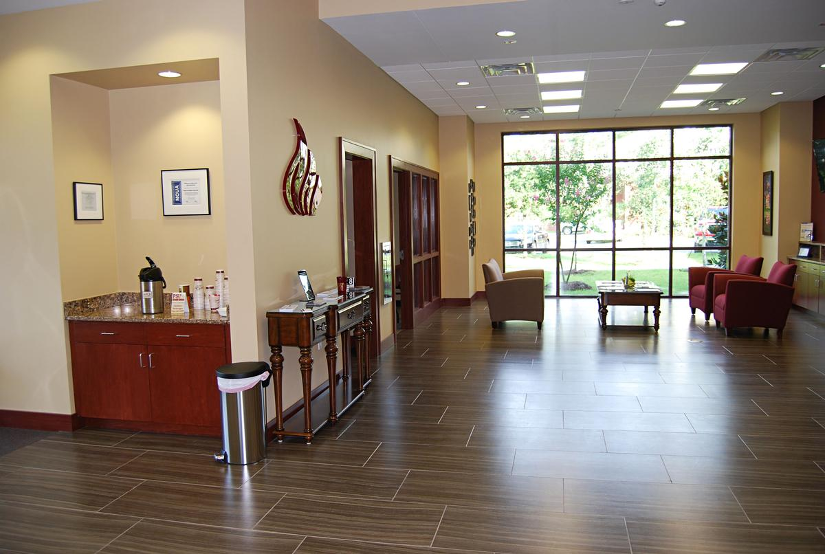 Lobby & Refreshment Counter